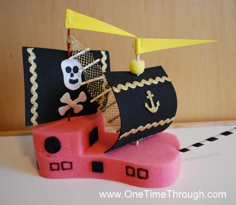 red sponge ship