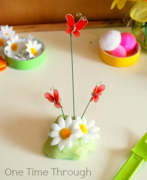 Butterfly Cake Playdough