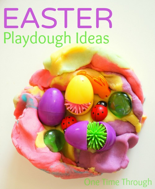Easter Playdough Ideas