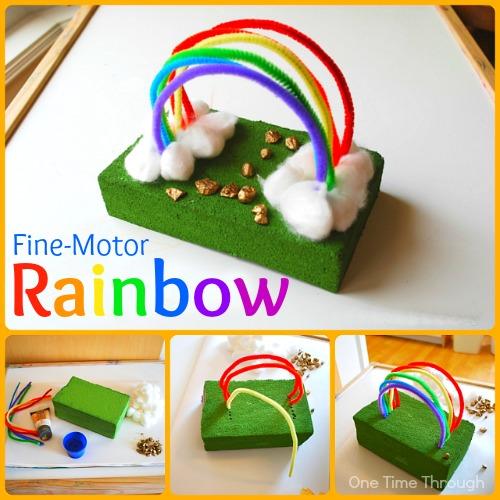 Fine-Motor Rainbow
