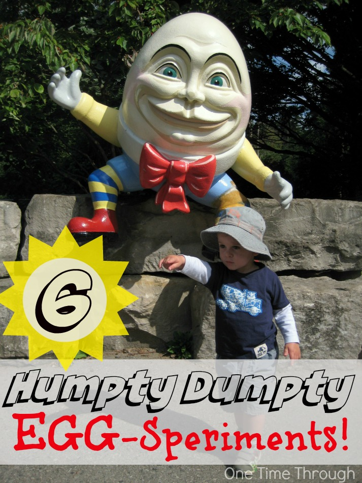 Humpty Dumpty Egg-Speriments