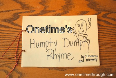 Humpty Dumpty Kids' Rhyming Book