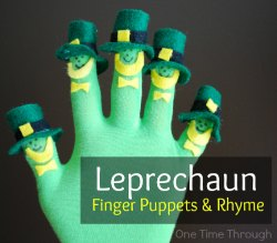Leprechaun Fingerplay