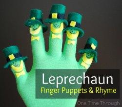 Leprechaun Fingerplay