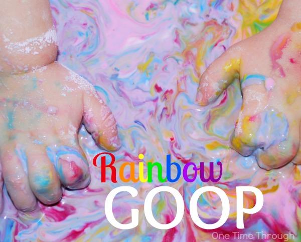 Rainbow Goop