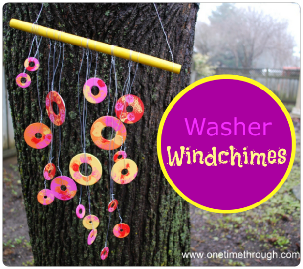 Washer Wind Chimes