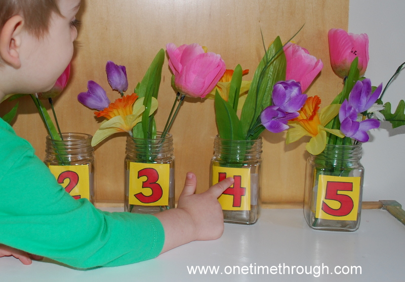 Counting with Flowers