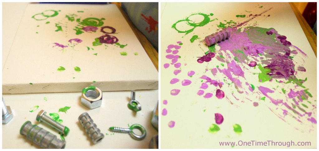Painting with Nuts and Bolts