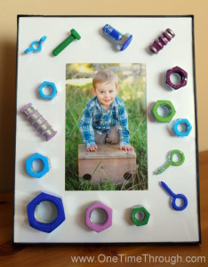 Father's Day Nuts and Bolts Frame
