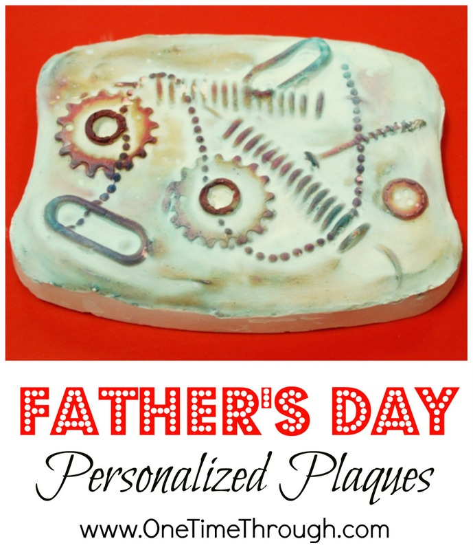 Father's Day Personalized Plaques