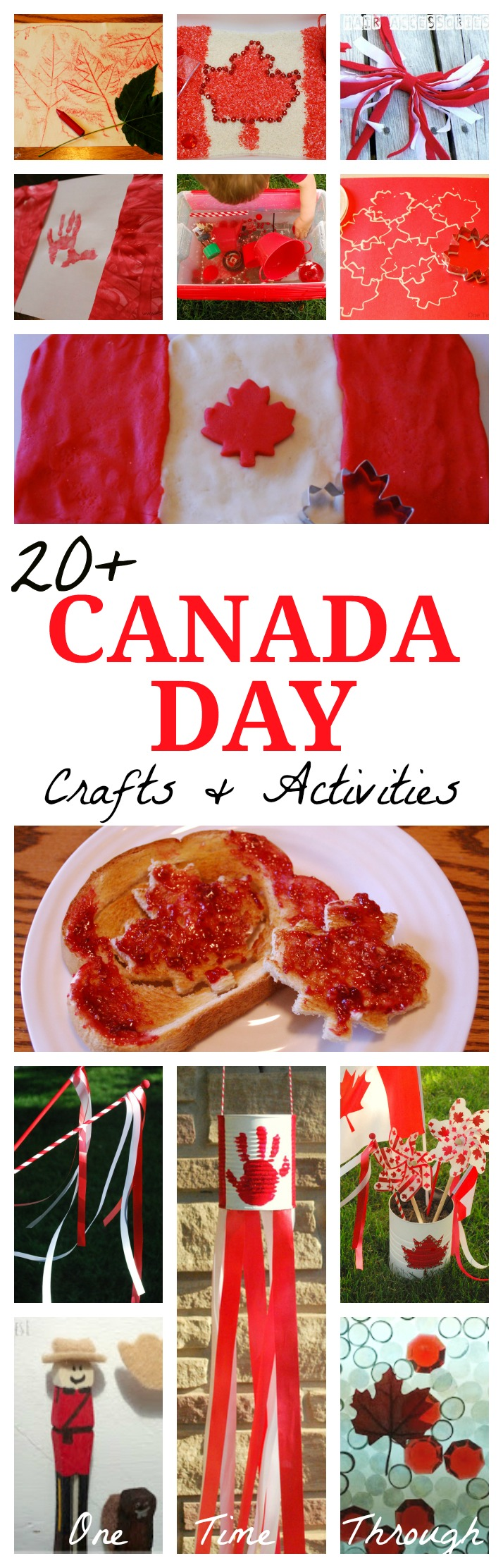 20+ Canada Day Crafts & Activities