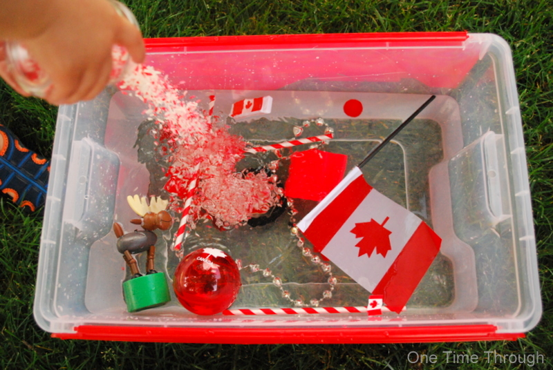 Canada Day Rice and Water