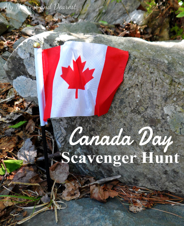 Canada Day Scavenger Hunt