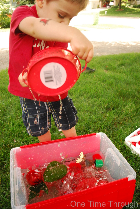 Canada Day Water Play