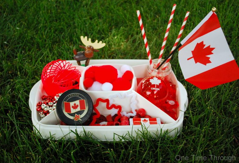 Canada Day Water Play Supplies