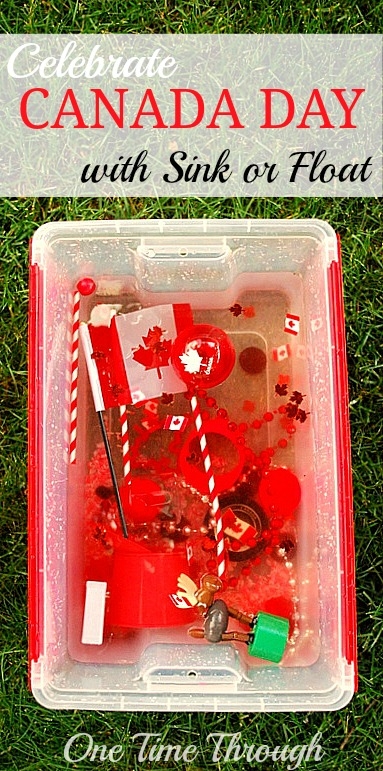 Celebrate Canada Day with Sink or Float