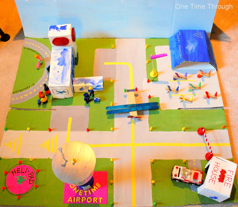 DIY Kids Airport