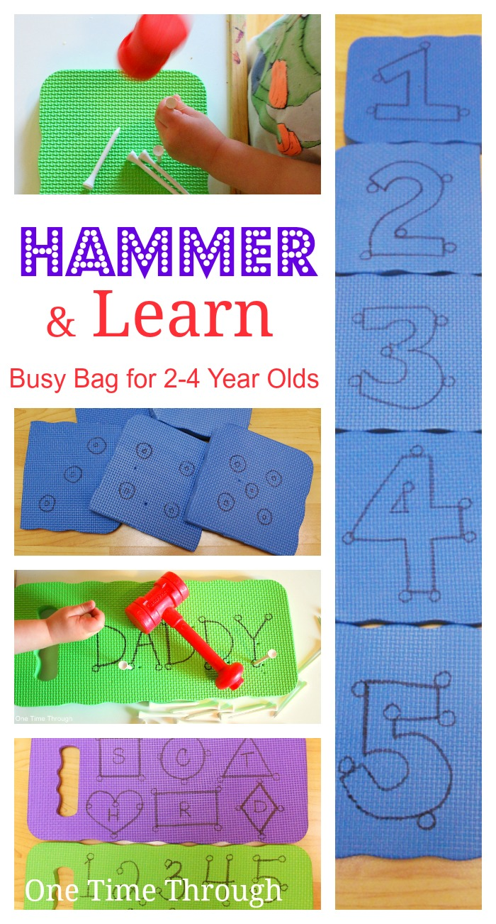 Hammer & Learn Busy Bag