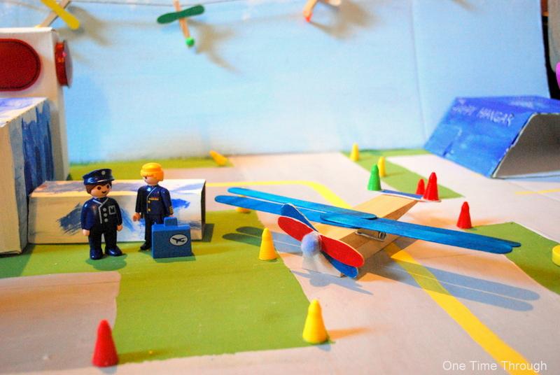 Pilots and Clothes Peg Plane