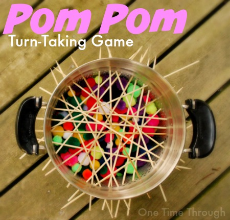 Pom Pom Turn-Taking Game