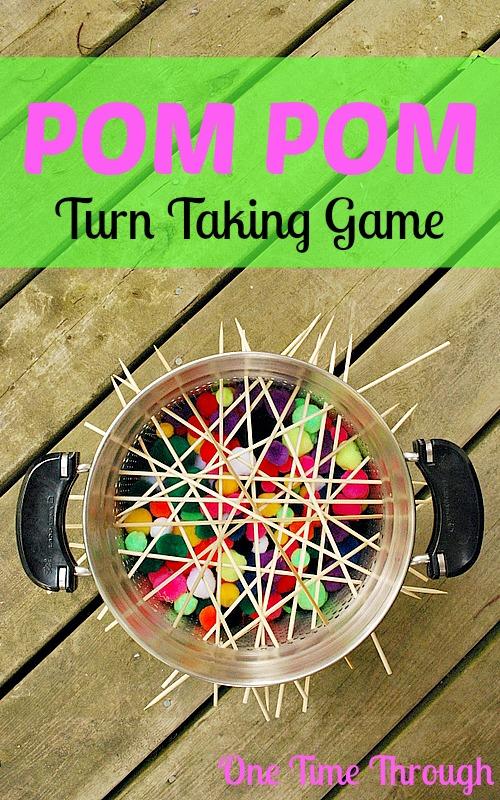Pom Pom Turn Taking Game