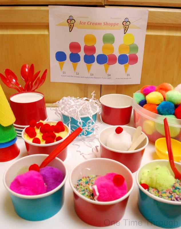 Kids' Pom pom Ice Cream Shoppe