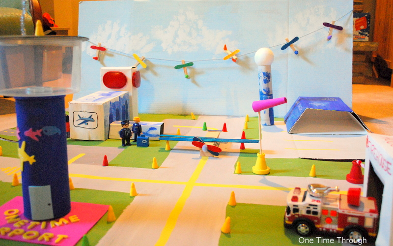 Ready for Takeoff: Pretend Airport