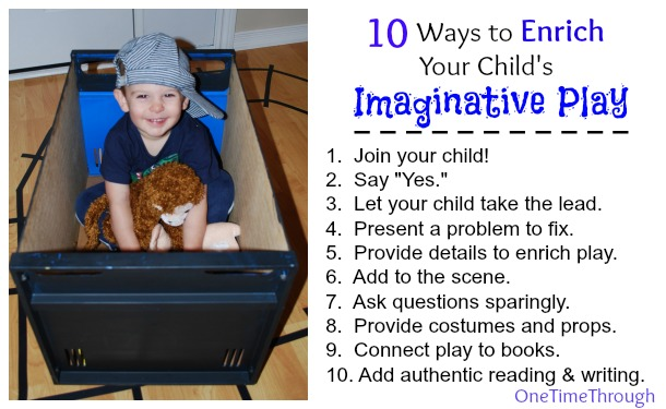 10 Ways to Enrich Play