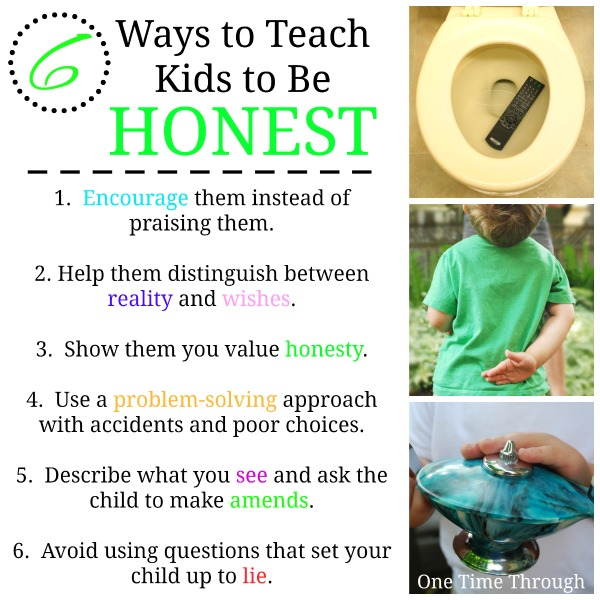 6 Ways to Teach Kids to Be Honest