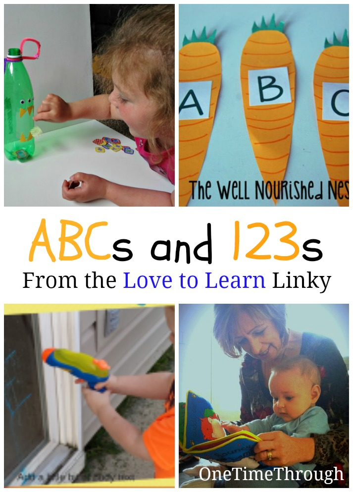 ABCs and 123s Love to Learn Linky