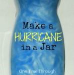 Make a Hurricane in a Jar