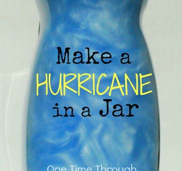 Make a Hurricane in a Jar
