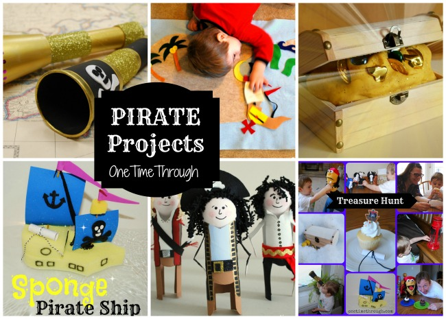 Kids Pirate Play Projects