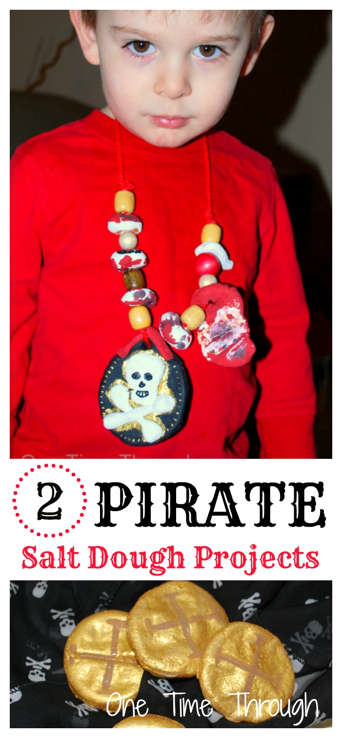Pirate Salt Dough Projects