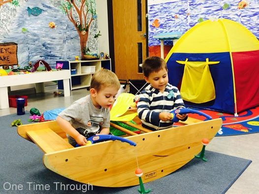 Pretend Boat Play