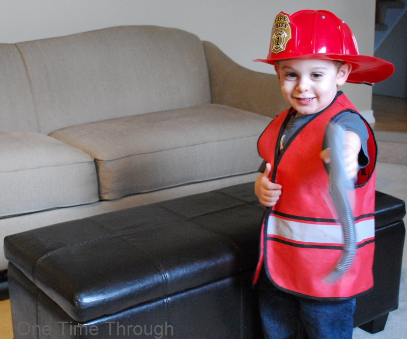 Pretend Firefighter Play