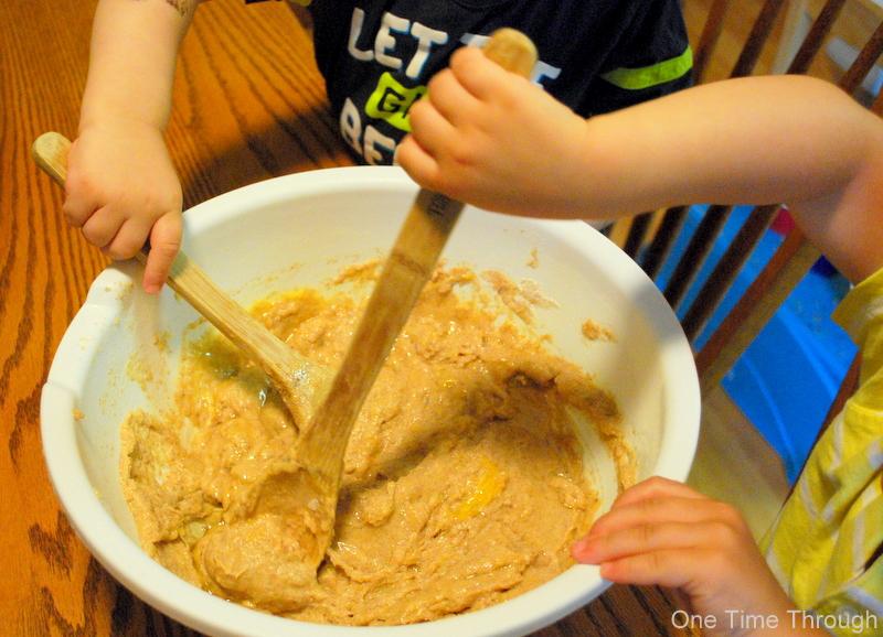 Stirring Together when Baking