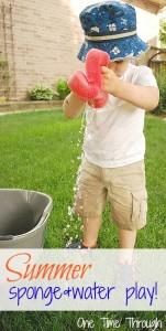 Summer Sponge & Water Play