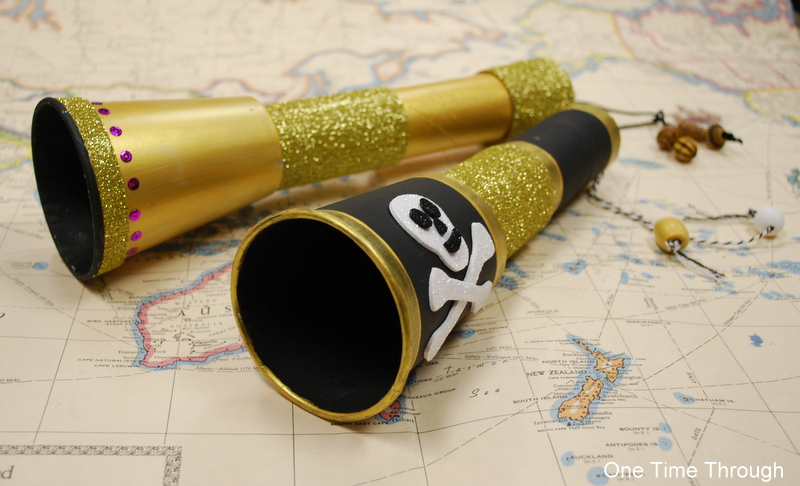Black and Gold Telescopes