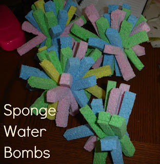 sponge water bombs