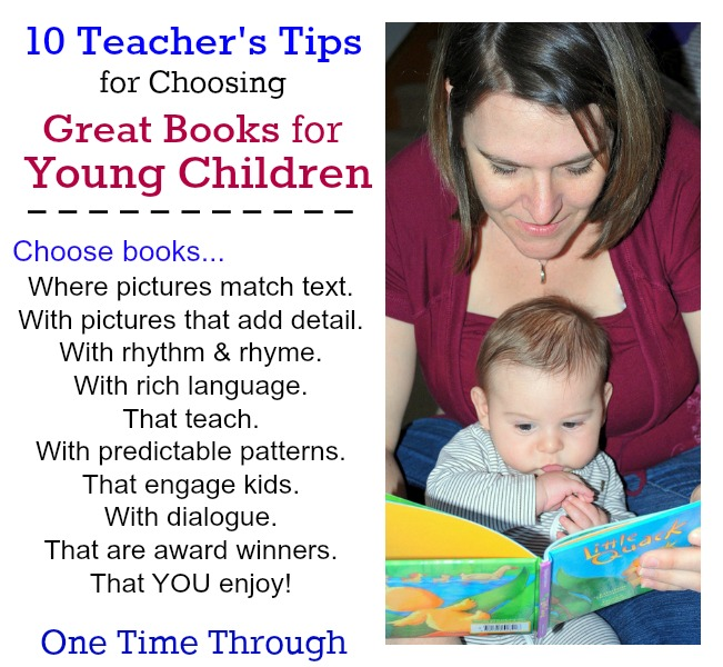 10 Teachers Tips for Choosing Great Kids' Books