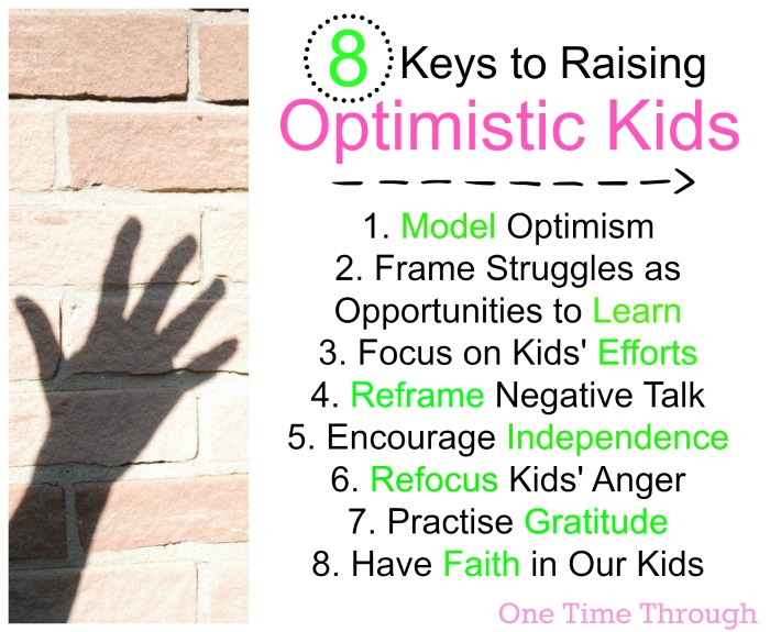 8 Keys to Raising Optimistic Kids