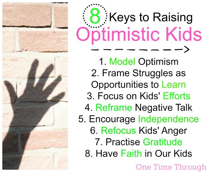 8 Keys to Raising Optimistic Kids