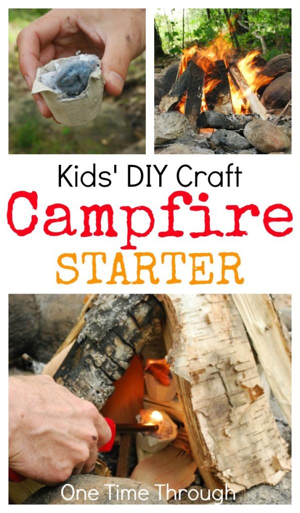 Campfire Starter Craft