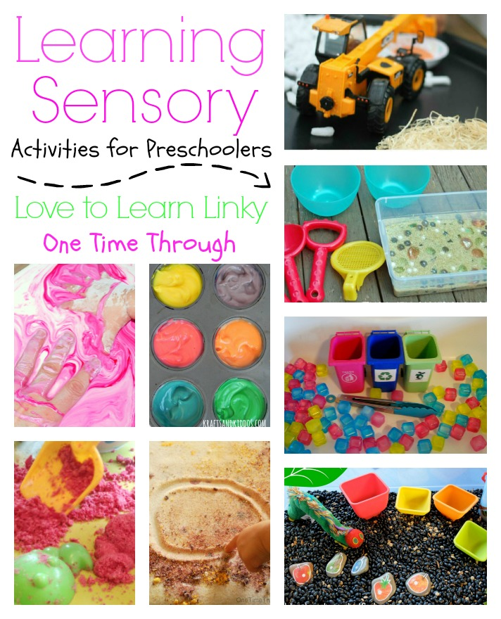 Learning Sensory Activities for Preschoolers