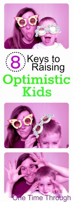 8 Keys to Raise Optimistic Kids