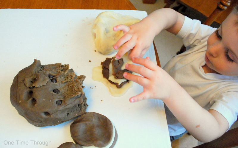 Playdough Cookie-Making