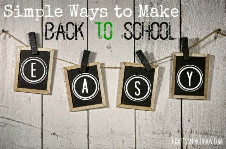 Simple Ways to Get Back to School