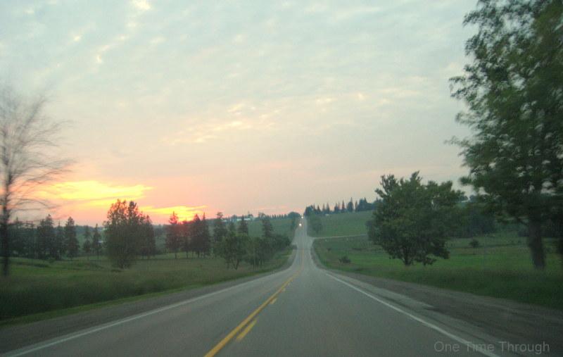 Mellow Sunset Driving