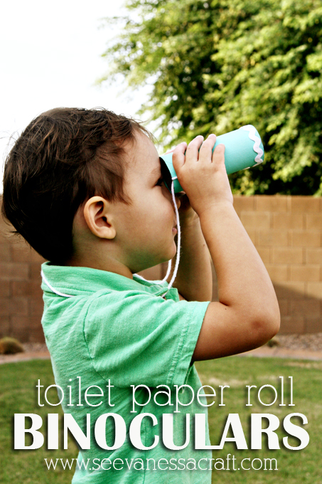 Toilet-Paper-Roll-Binoculars-Kid-Craft